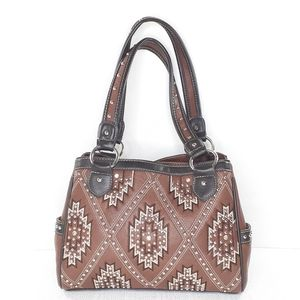 Montana West Concealed Carry Bag Studded Purse